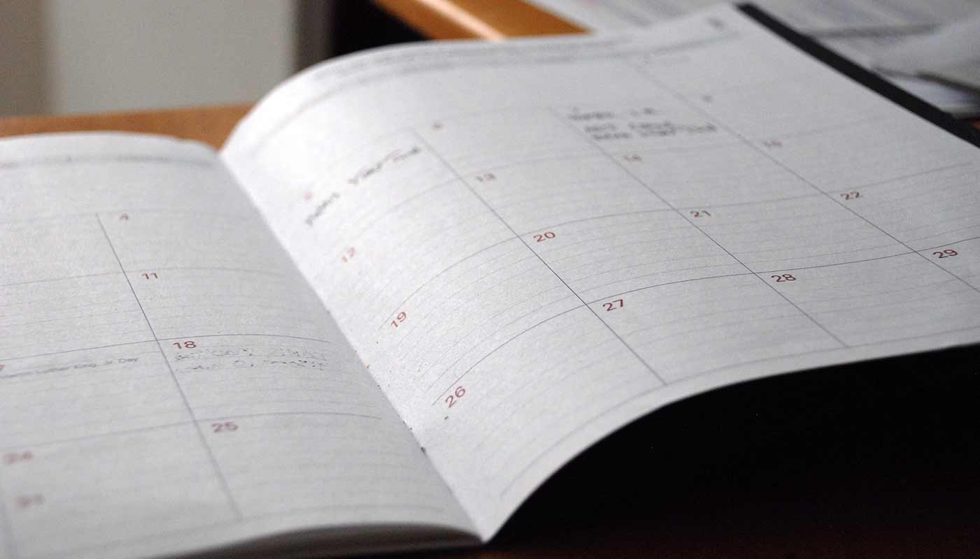Planner for scheduling.